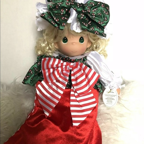 Precious Moments Christmas Stocking Doll 17th Ed